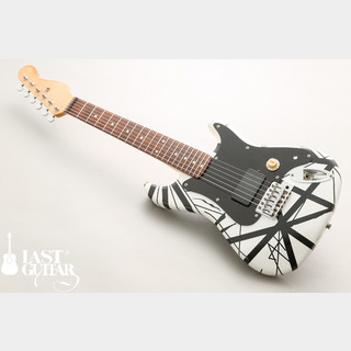 NO BRAND EVH Style Mini Guitar Black/White