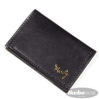 moody Leather Wallet [Black/Black]