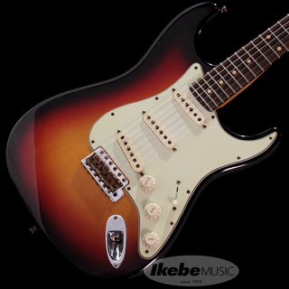 Fender Custom Shop Custom Built 1960 Stratocaster Journeyman Relic 22F 3-Color Sunburst IKEBE Order Model SN.CZ548696