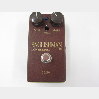 Lovepedal LOVE PEDAL ENGLISHMAN ディストーション
