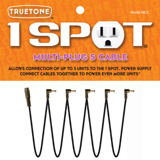 Truetone 1SPOT MC5 MULTI PLUG 5 CABLE