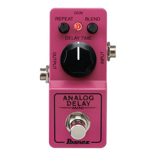 Ibanez ADMINI ANALOG DELAY MINI ギターエフェクター