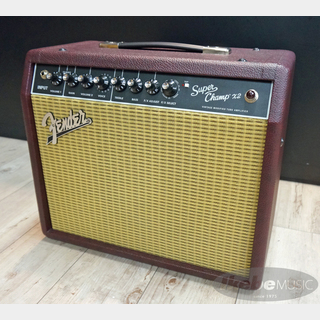 Fender USA Super Champ X2 [Wine Celestion G10]【限定モデル】 【特価】