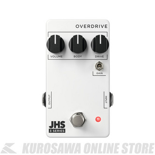 JHS Pedals 3 Series OVERDRIVE ≪オーバードライブ≫ 【送料無料】