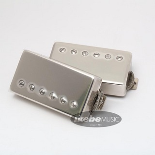 LOLLAR PICKUPS Imperial Humbucker Pickup Standard Nickel Set (Single conductor wire)