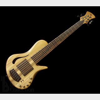"Adamovic Halo 6st/33"" Hollow Body ""Yellow Poplar Top"""