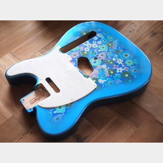 ALLPARTSTelecaster Body - Blue Flower