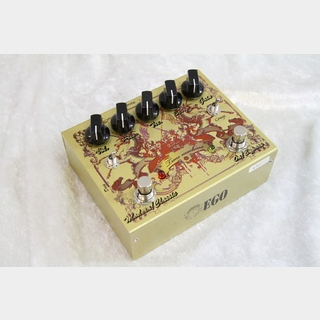 EGO Electronic TM2 Classic Gold Red