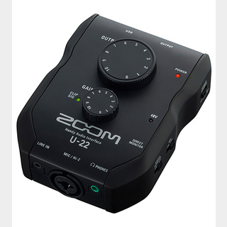 ZOOM U-22 ◆2in/2out, Handy Audio Interface