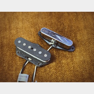LINDY FRALIN Telecaster Pickup Set(tele stock Neck/Broadcaster Bridge)