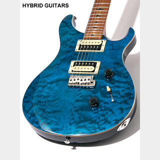 Paul Reed Smith(PRS) SE Custom 24 Roasted Maple Limited Blue Matteo 2019