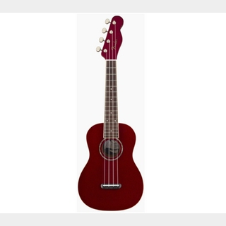 Fender Zuma Classic Concert UkuleleCandy AppleCAD Candy Apple Red