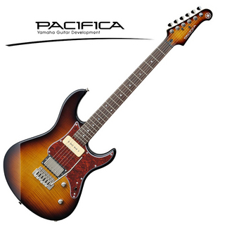 YAMAHA PACIFICA611VFM (Tobacco Brown Sunburst)