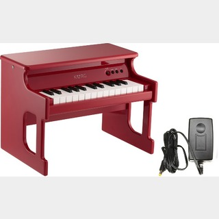 KORG tinyPIANO RD レッド 電源アダプターセット 【WEBSHOP】
