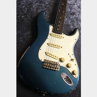 FREEDOM CUSTOM GUITAR RESEARCH Custom Order RS ST All Lacquer Relic Old Lake Placid Blue/Brazilian Rosewood #1329L 【ハカランダ】