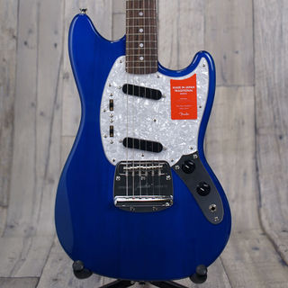 Fender Made in Japan Traditional '70s Mustang -Sapphire Blue Transparent-【おちゃのみず楽器】