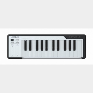 Arturia MicroLAB BK (Black) Smart Keyboard Controller 【未開封品 即納できます!】