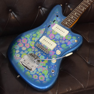 Fender MIJ Traditional 60s Jazzmaster Rosewood Blue Flower