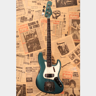 "Fender 1966 Jazz Bass ""Lake Placid Blue"" Bound & Dot Marker"