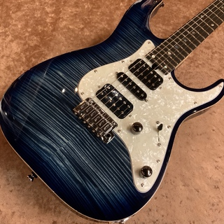 T's Guitars DST-Pro24/AAAAA Flame Maple Top -Dark Blue Denim Burst- 【分割48回まで無金利キャンペーン中!!】