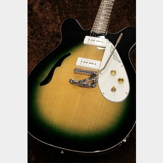 EASTWOOD GUITARS 【名古屋店クリアランスセール目玉品!!】Micro-Frets Spacetone DLX -Martian Green-【名古屋店】