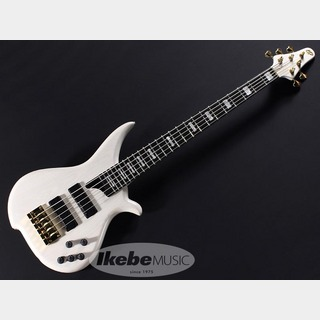 "Tune TWB-5 Ash Transparent White-M.H.""Block Inlay,ZB Bridge"""