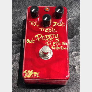 BJF Electronics Poppy Red Distortion 【5月6日までGWセール特価】【在庫希少】【Marshall系モデル】
