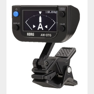 KORG AW-OTG CLIP-ON GUITAR TUNER