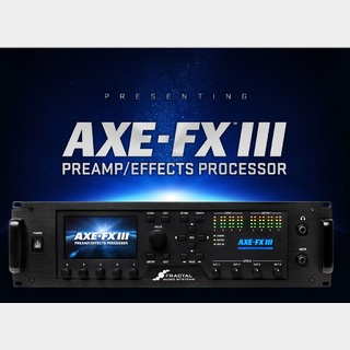 FRACTAL AUDIO SYSTEMS Axe-Fx III MARK II【新製品・次回入荷分予約受付中】