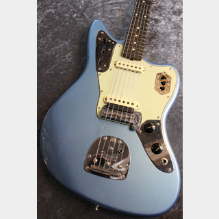 Fender Custom ShopWinter NAMM 2020 Limited 1962 Jaguar Journeyman Relic Faded Aged Lake Placid Blue #CZ544904