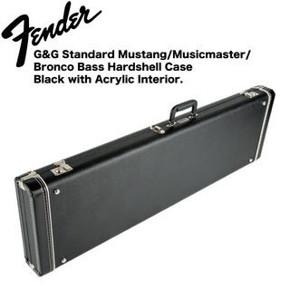 Fender Short Scale Bass Multi-Fit Case Black エレキベース用ハードケース