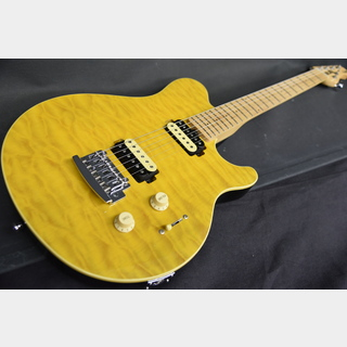 Sterling by MUSIC MAN S.U.B AX3 Translucent Yellow