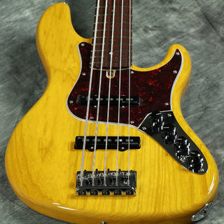 Fender Made in Japan Limited Deluxe Jazz Bass V Rosewood Fingerboard Vintage Natural 【WEBSHOP】