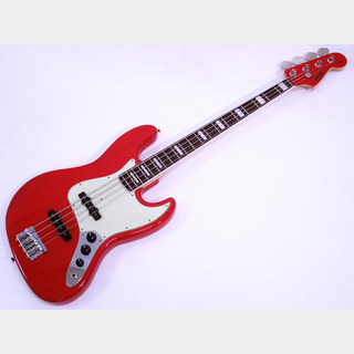 SonicJB-360 Ash / Rosewood Fingerboard (See-through Red)