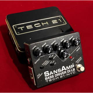 Tech 21SansAmp BASS DRIVER DI-LB 【中古】【箱取説付】
