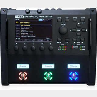 FRACTAL AUDIO SYSTEMS 【1台即納可能】FM3  未展示箱在庫納品