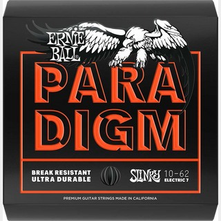 ERNIE BALL Electoric Guitar Strings Paradigm Slinky 7st [2030/Paradigm Skinny Top Heavy Bottom Slinky/10-62]