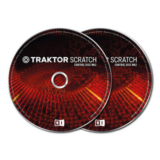 NATIVE INSTRUMENTSTRAKTOR SCRATCH Pro Control CD MK2 コントロールCD