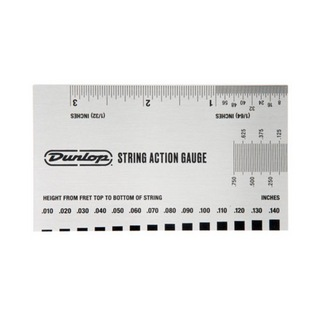 Jim Dunlop DGT04 STRING ACTION GAUGE 弦高調整用ゲージ 定規