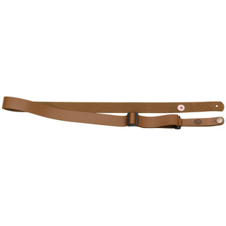 Steph UKL-31 Cognac Split Leather ウクレレストラップ