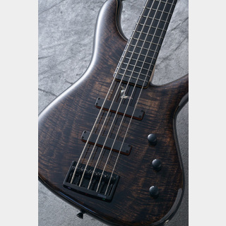 Sugi NB5 Flame Walnut Top/BLK ASH/E 【現地選定品】【極杢】【3.95kg】