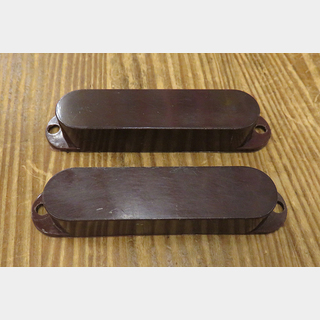 Fender 1960s Duo Sonic Pickup Covers Brown x2
