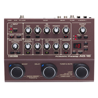 BOSSAD-10 [Acoustic Preamp]
