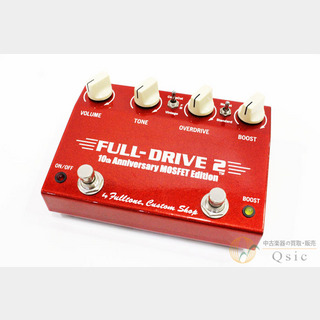 Fulltone FULL-DRIVE 2 MOSFET 10th Anniversary Edition [WF181]