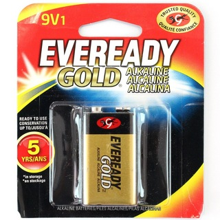 Energizer EVEREADY GD 9V 電池
