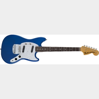 Fender Traditional 70s Mustang Rosewood Fingerboard / Sapphire Blue Transparent