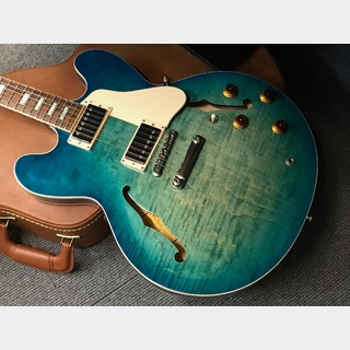 Gibson Memphis ES-335 Figured 2018 (#10818763) Aquamarine