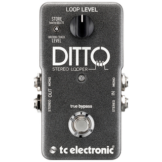 tc electronic DITTO STEREO LOOPER ※国内正規品 【6月22日入荷予定・予約受付中】