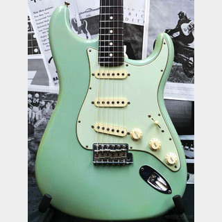 Fender Custom Shop MBS 1961 Stratocaster Journeyman Relic 22 Frets! -Super Aged Daphne Blue- by Paul Waller 2018USED!!