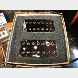 Bare Knuckle PickupsAftermath 7 String Set -CHROME BATTLE WORN- 【7弦用ハムバッカーセット】【送料無料】